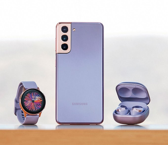 Sorteio de um Galaxy S21 Plus, um Galaxy Watch 3 e Galaxy Buds Pro