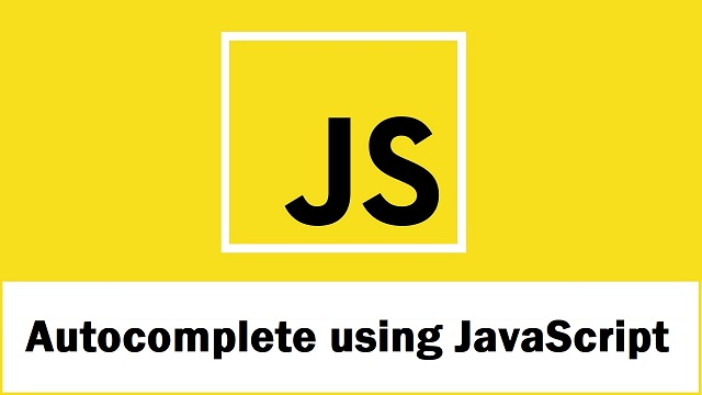 JavaScript Autocomplete Textbox from Database using PHP