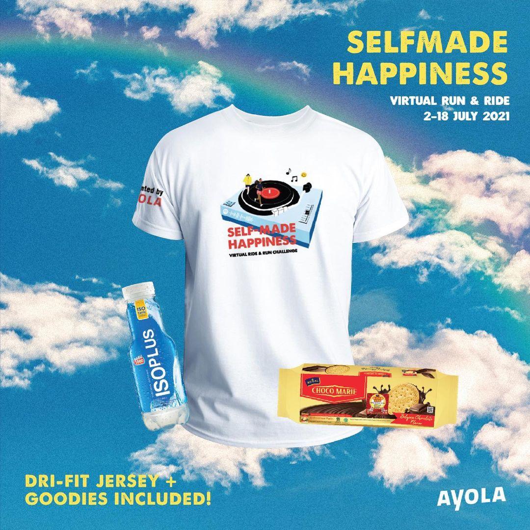 Self-Made Happiness Virtual Race • 2021
