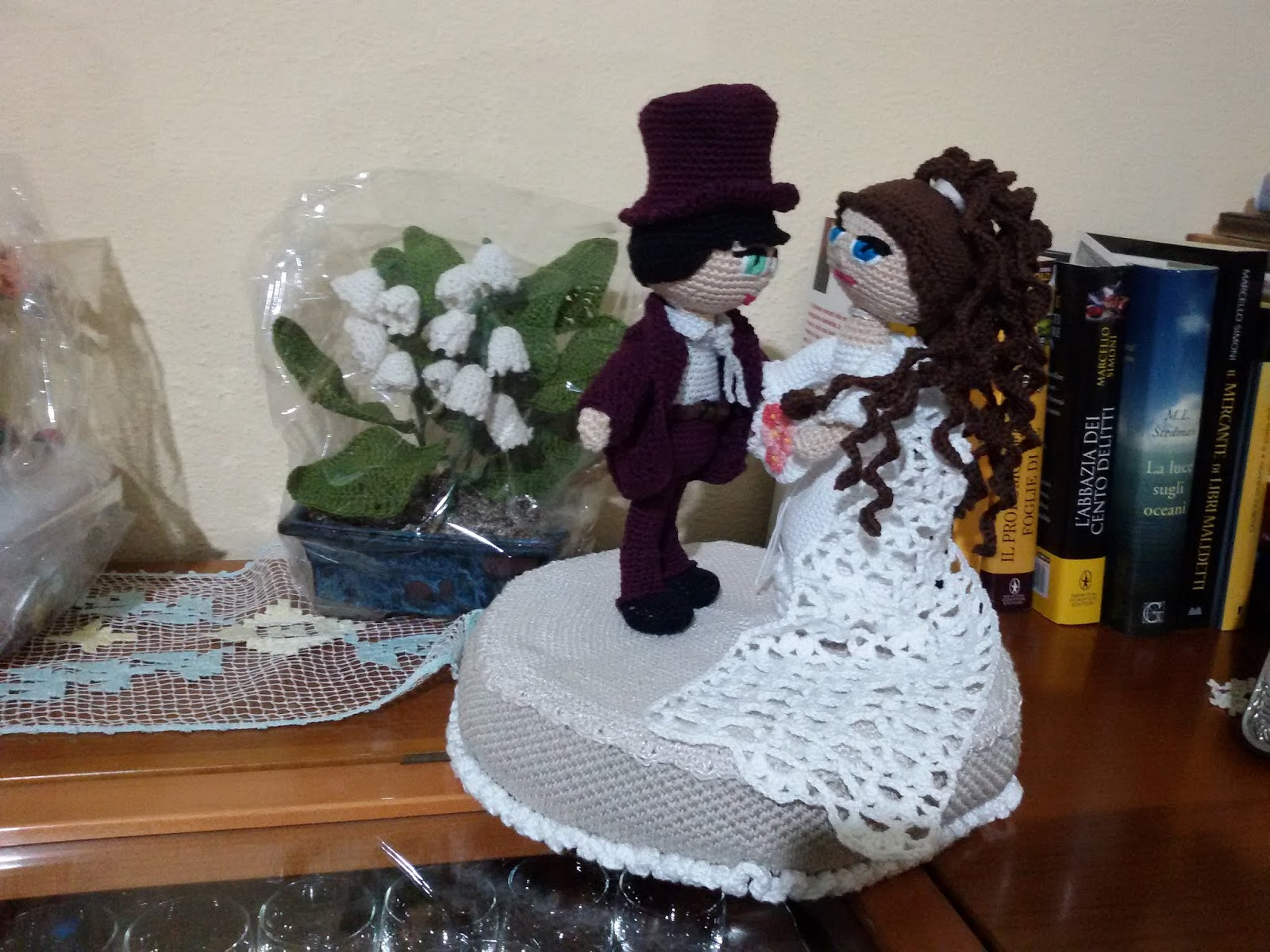 Uncinetto amigurumi: Sposi - How to do married - YouTube ... | 1200x1600