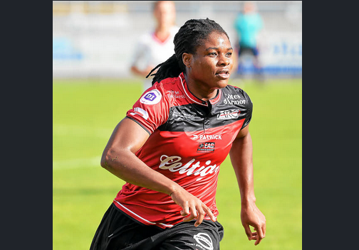 Authorities norminates Desire Oparanozie's goal as the most beautiful goal in the French cup