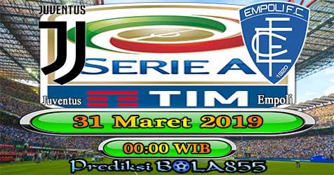 Prediksi Bola855 Juventus vs Empoli 31 Maret 2019