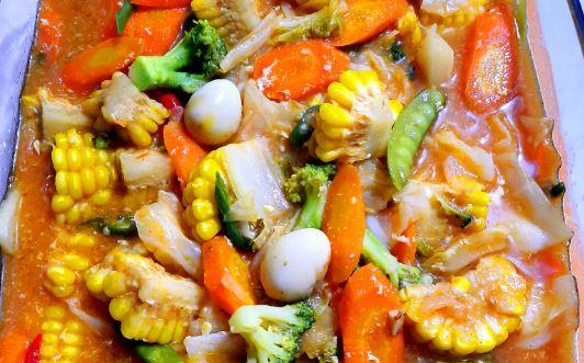 resep dan cara membuat memasak capcay kuah