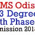 SAMS Odisha +3 Degree 4th Phase Admission 2018 - Apply @samsodisha.gov.in