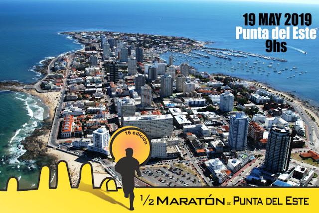 21k y 8k Media Maratón de Punta del Este (Maldonado, 19/may/2019)