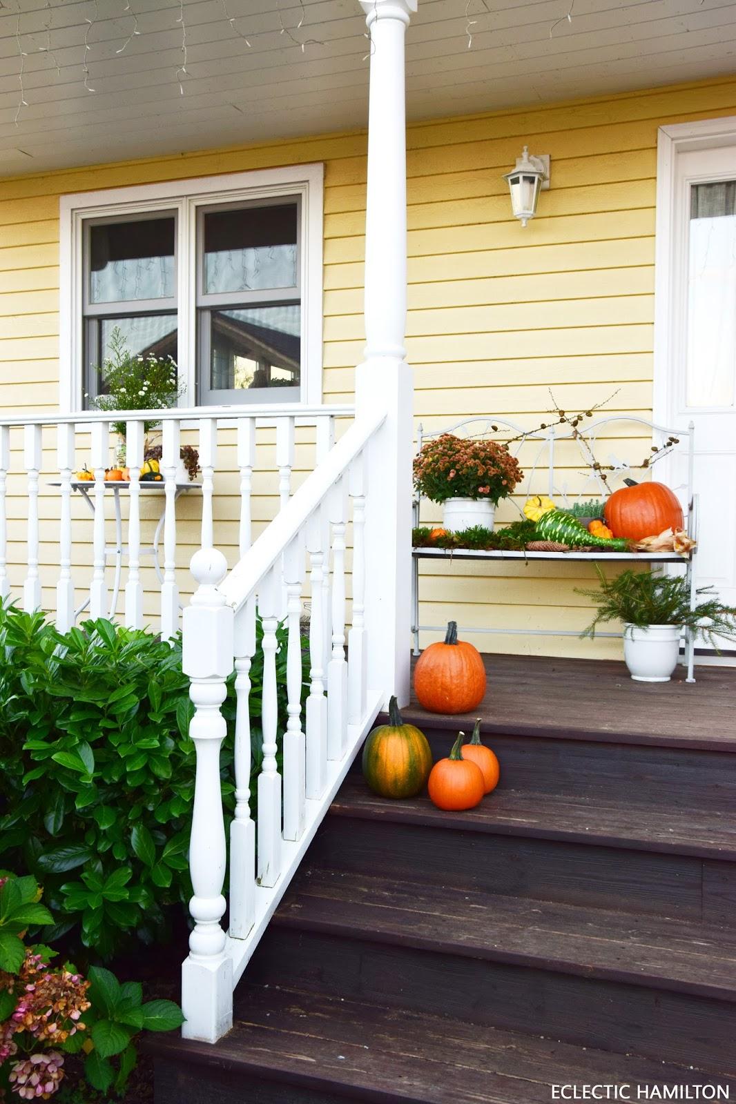 k rbisse auf meiner veranda schon richtig herbstlich und viele dekoideen f r euch. Black Bedroom Furniture Sets. Home Design Ideas