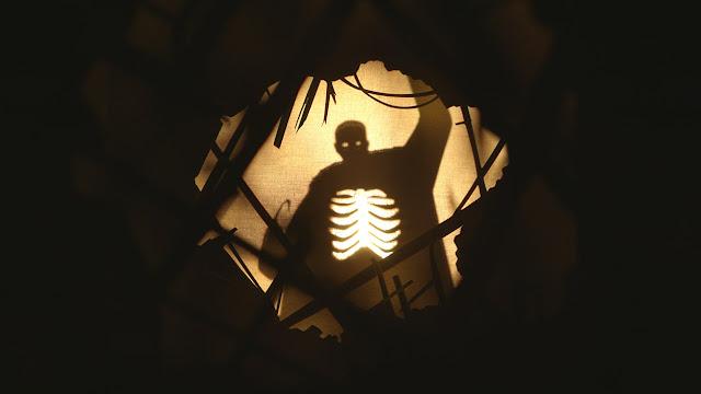 spooky shadow puppet