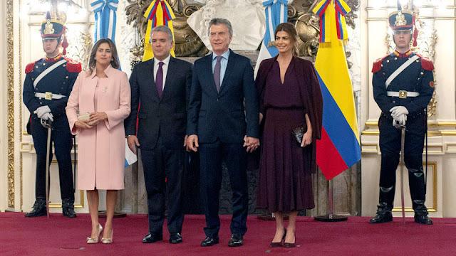 Iván Duque visita Argentina y apoya una eventual reelección del presidente Macri