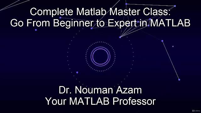 MATLAB Master Class: Go from Beginner to Expert in MATLAB