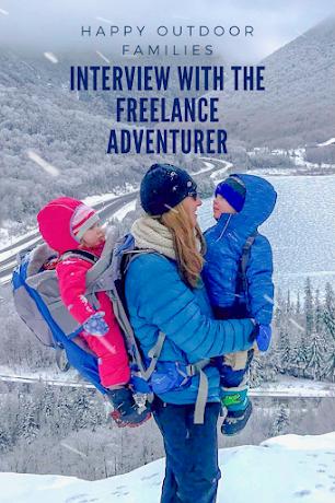 Freelance adventurer with kids