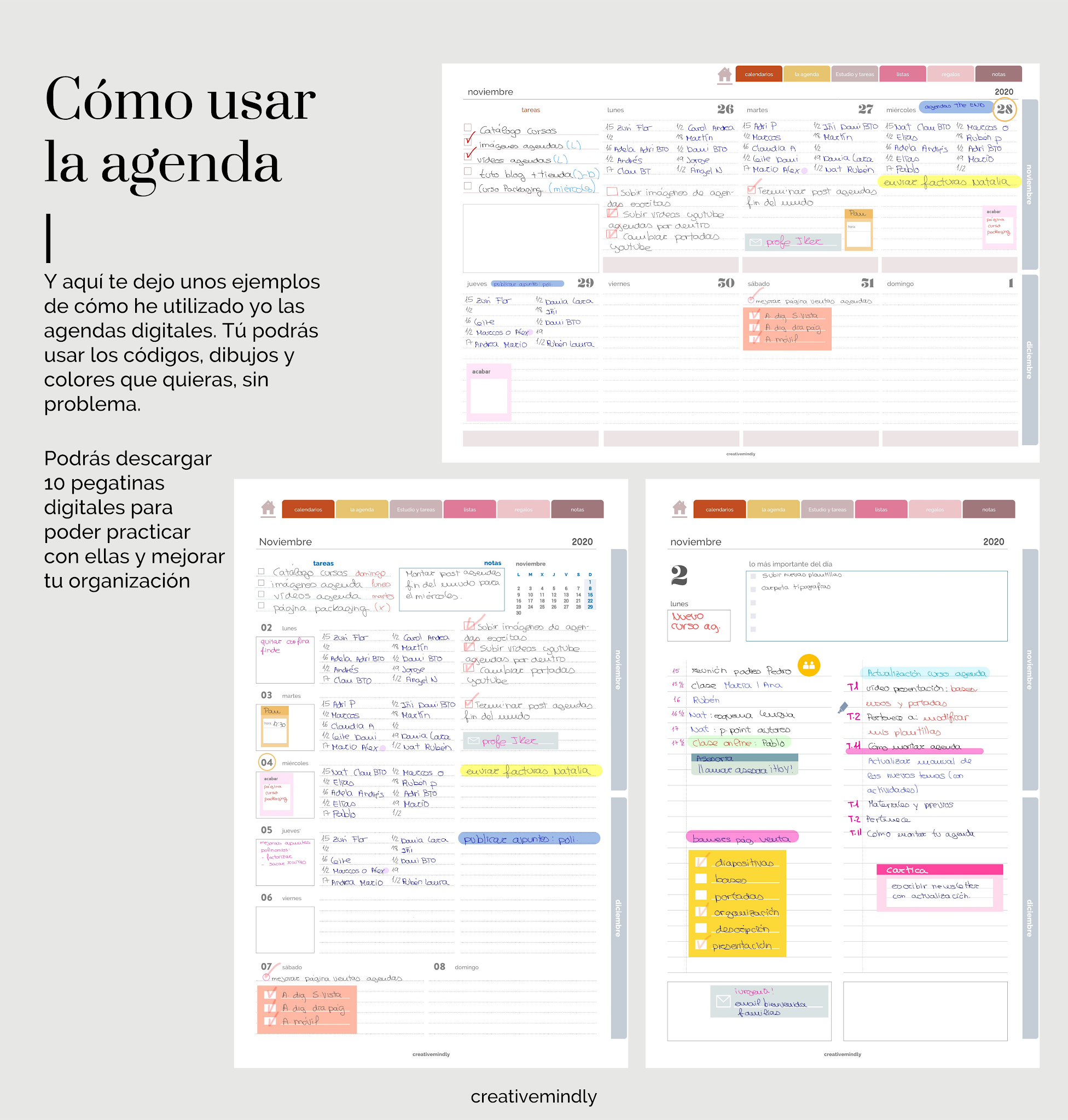 agenda digital bonita ipad gratis