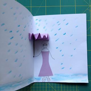 τρισδιάστατη-κάρτα-με-ομπρέλα