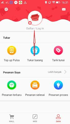 Cara mudah daftar di Aplikasi Shopmap