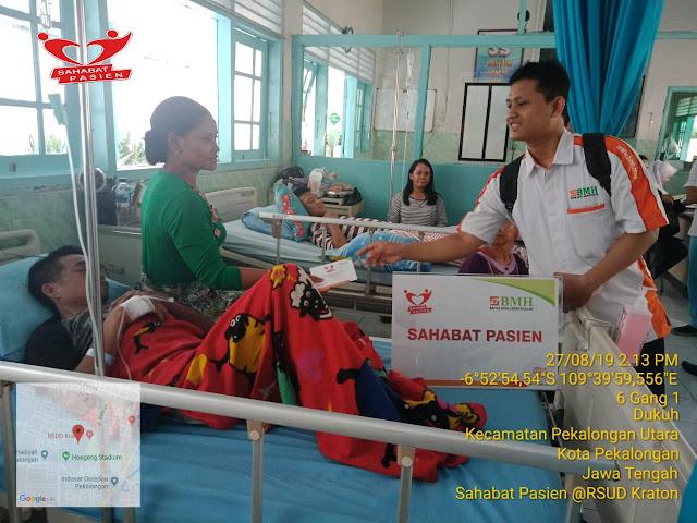 Gandeng 3 Rumah Sakit, BMH Serahkan Program Sahabat Pasien Di Pekalongan