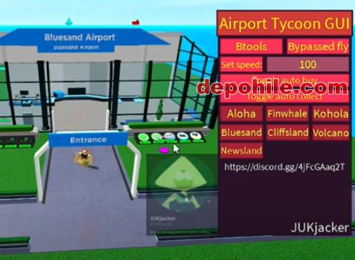 Roblox Airtport Tycoon Para, Farm Script Hilesi İndir 2021