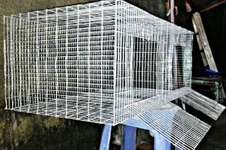 Cara Membuat Kandang Kelinci Kawat