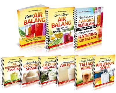 E-book Resepi Air Balang Viral