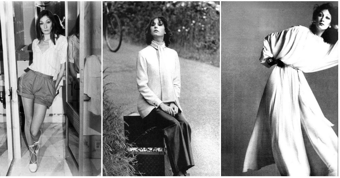30 Stunning Photos of Anjelica Huston as a Model in the 1970s and 1980s