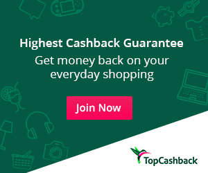 Get Cashback on your puchases