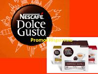 Logo Nescafè Dolce Gusto ''Vinci il tuo prossimo viaggio'': in palio voucher da 1000 euro