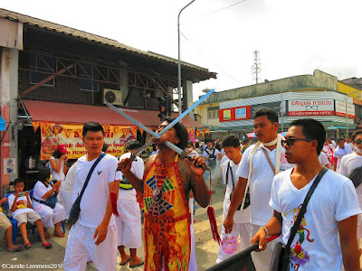 The vegetarian festival on Phuket 2016