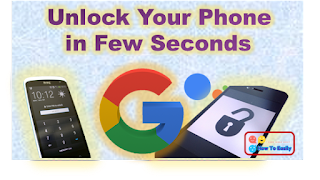 How to Unlock Locked Smartphone in Few Seconds