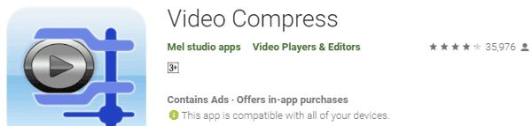 افضل برنامج ضغط حجم الفيديو للاندرويد بدون التاثير على جودته