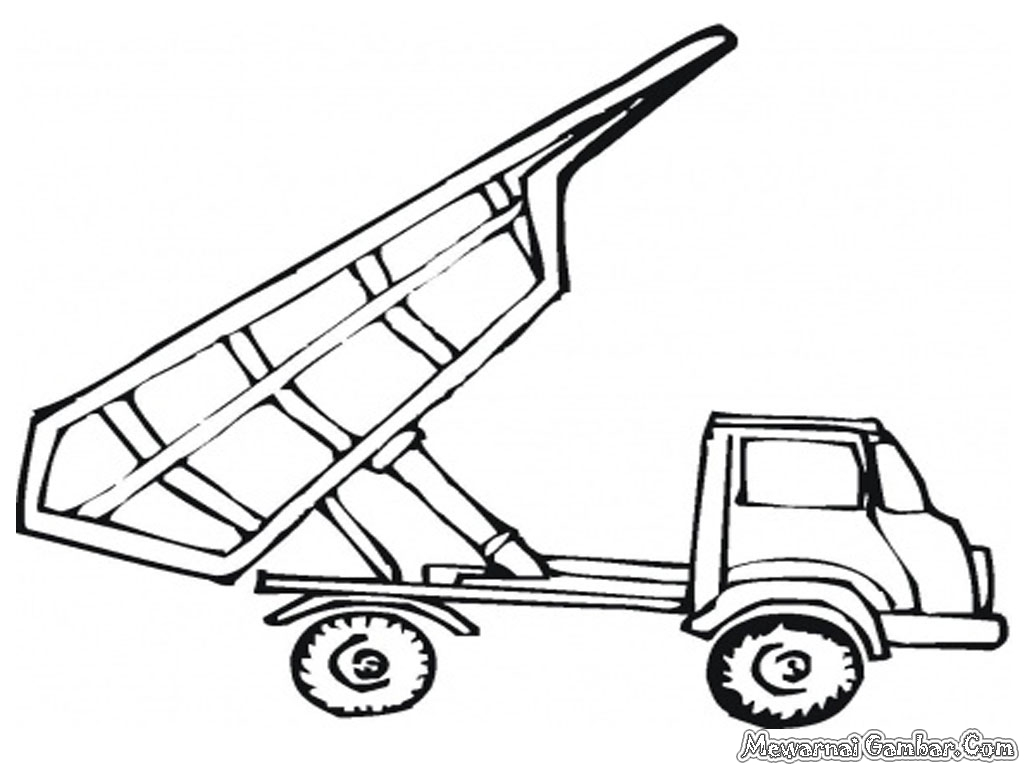 Mewarnai Mobil Dump Truk Gambar Bliblinews Truck
