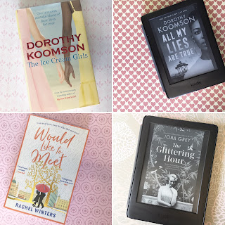The Ice Cream Girls and All My Lies Are True by Dorothy Koomson, Would Like To Meet by Rachel Winters and The Glittering Hour by Iona Grey