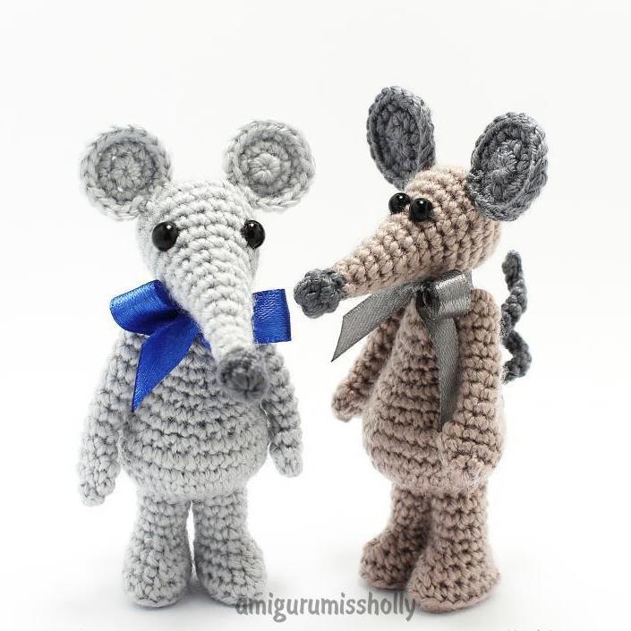 1000 схем амигуруми на русском вязаная мышка крючком