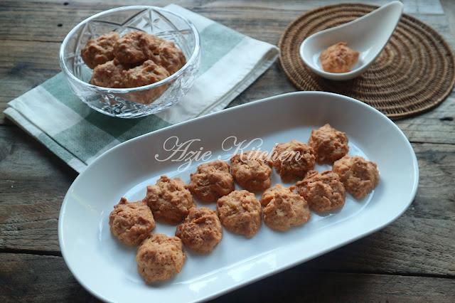 Biskut Cornflakes Rangup Dan Sedap Buat Hidangan Raya
