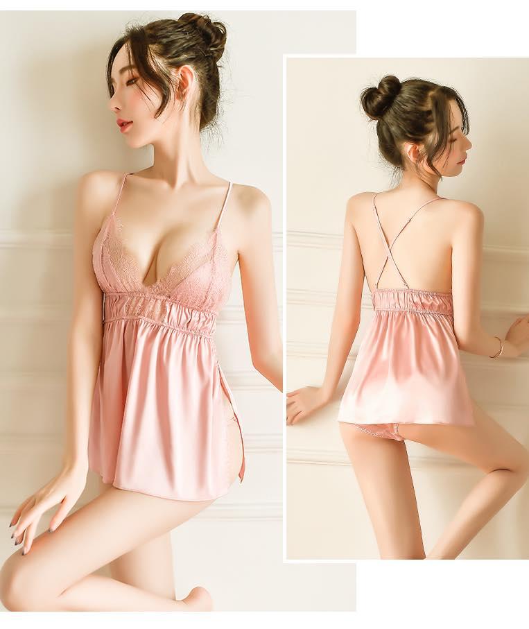 Váy ngủ nightdress ngọt ngào 3