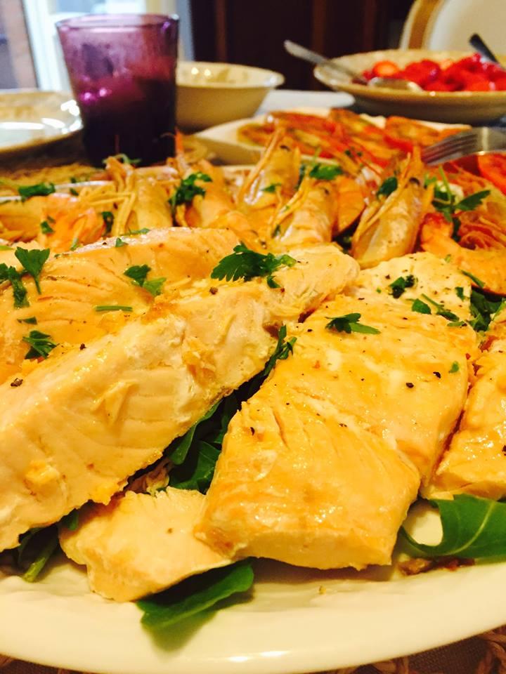 Cena A Base Di Pesce Lamore Per La Cucina Di Sonia