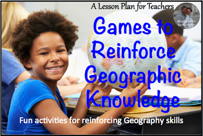 Games to reinforce Geographic Knowledge