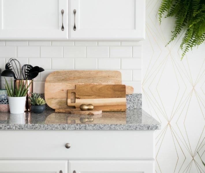 Reforma low-cost de cocina-comedor sin obras