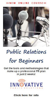 New Online Course! Public Relations for Beginners