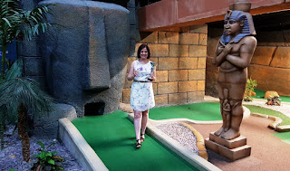 Emily Gottfried, the Paradise Island Adventure Golf Open Champion
