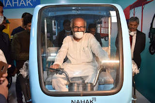 Nahak Motors Launches First Ever 100% Made in India E-Cycles