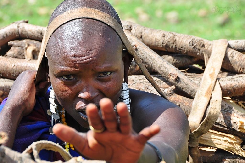 Wśród Masajów.