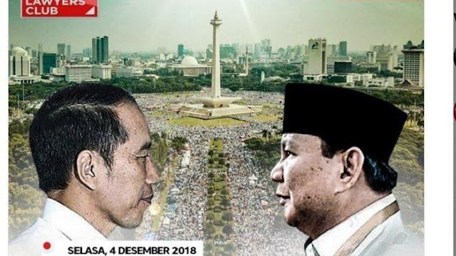 Prabowo, Jokowi dan Massa