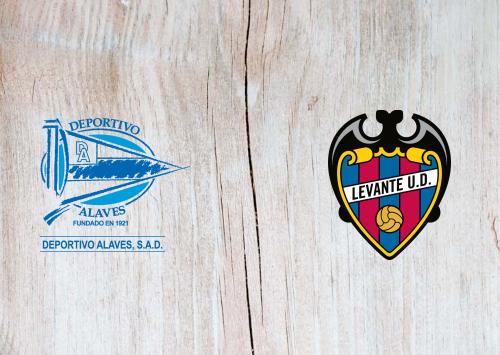 Deportivo Alavés vs Levante -Highlights 18 August 2019