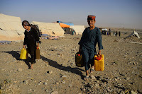 It's hard to separate the forces that fuel armed conflicts within a countries, but the U.S. military and intelligence agencies have long considered climate change and its effects, such as drought, a threat multiplier. (Credit: Hoshang Hashimi/AFP/Getty Images) Click to Enlarge.