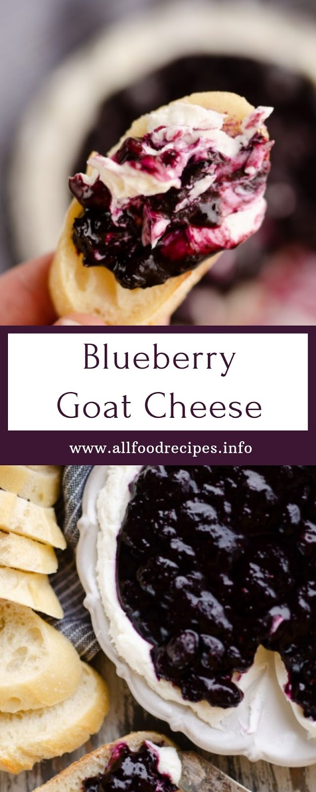 Blueberry Goat Cheese