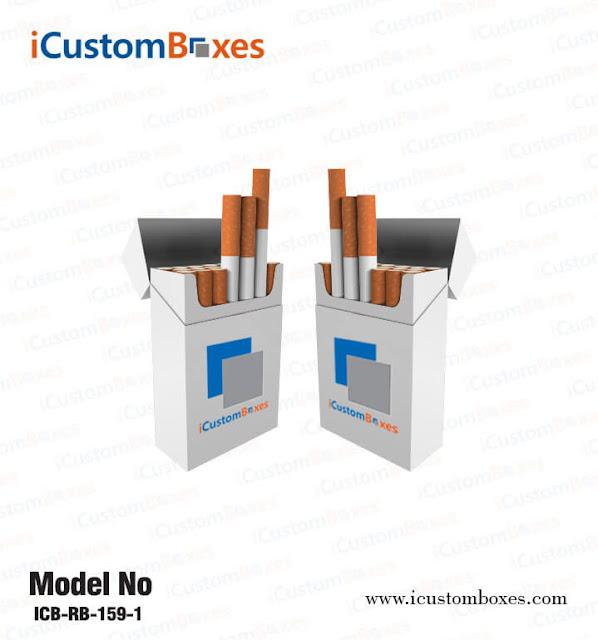 , Dark and vibrant designs for cigarette boxes