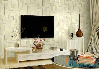 Desain Backwall Ruang Keluarga