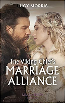 The Viking Chief's Marriage Alliance by Lucy Morris book cover Mills & Boon historical