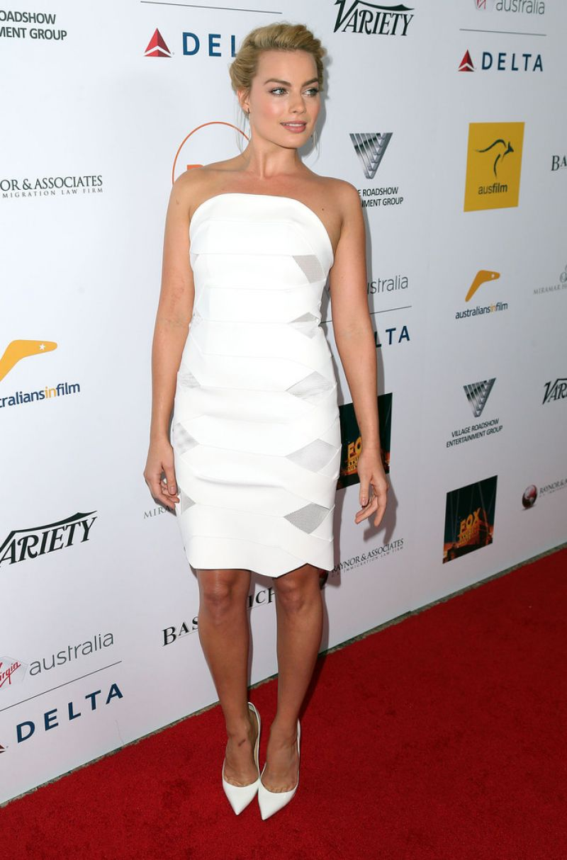 Legend of Tarzan actress Margot Robbie at 3rd Annual Australians in Film (AiF) Awards Benefit Gala