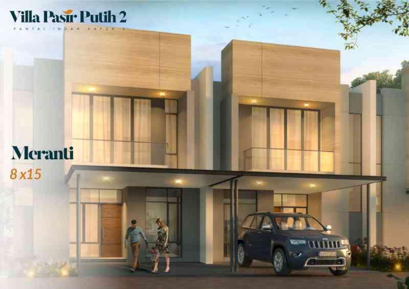 Villa Pasir Putih 2 Tipe Meranti