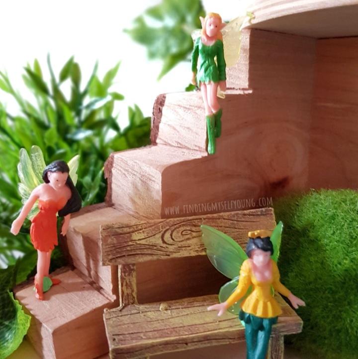 fairies in a tree house