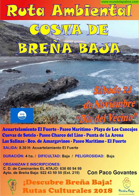 """EL ATAJO: """"Ruta Ambiental de la Costa de Breña Baja"""""""